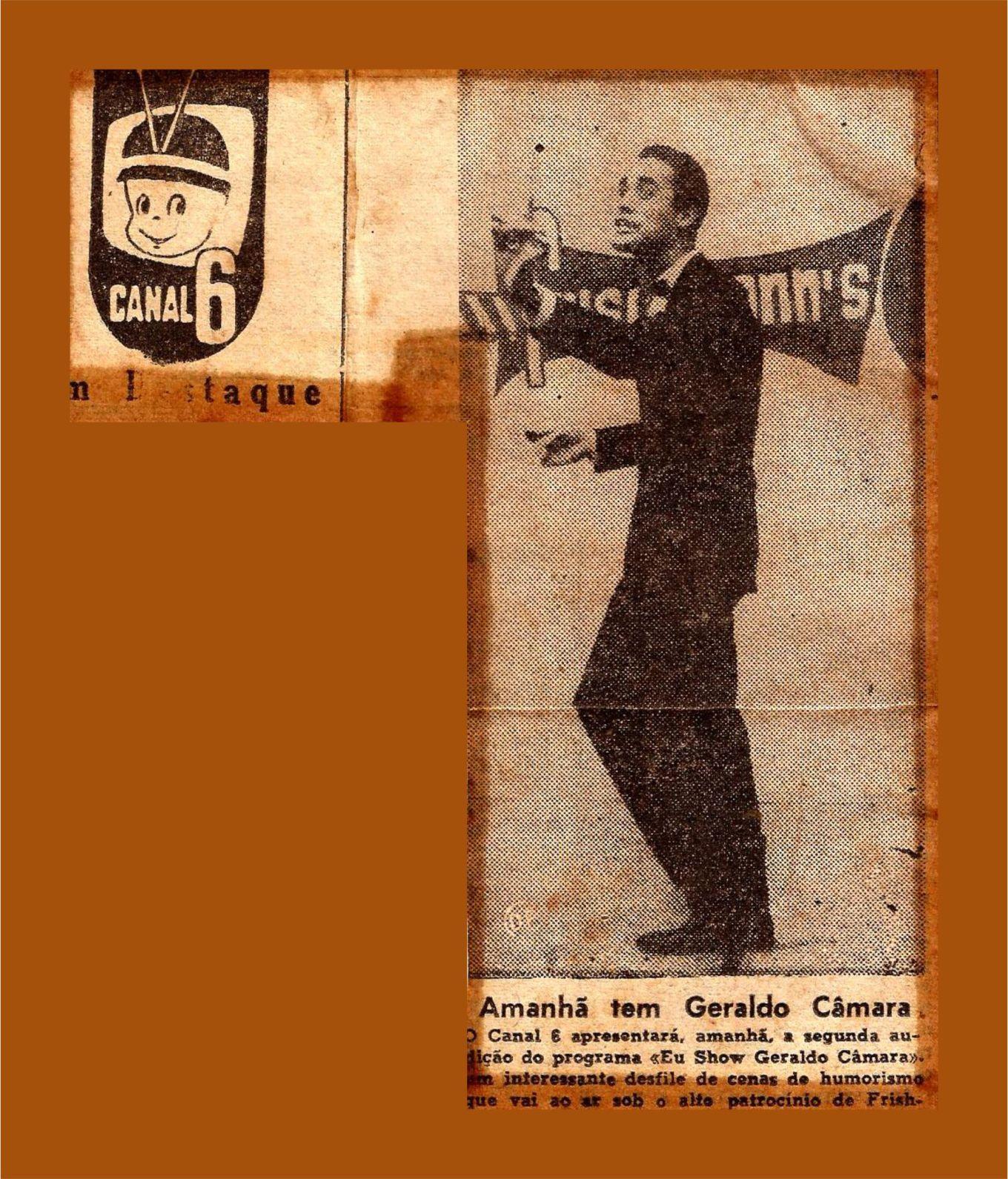 EU SHOW GERALDO CÂMARA
