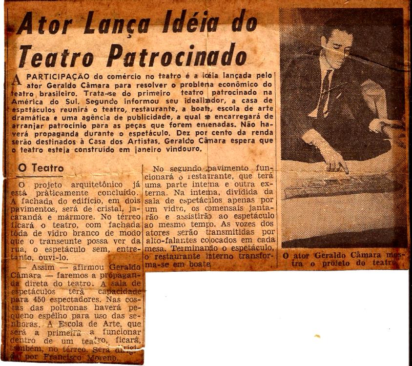 GERALDO (Teatro Patrocinado)