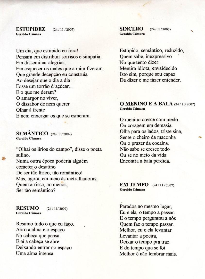 seis poemas